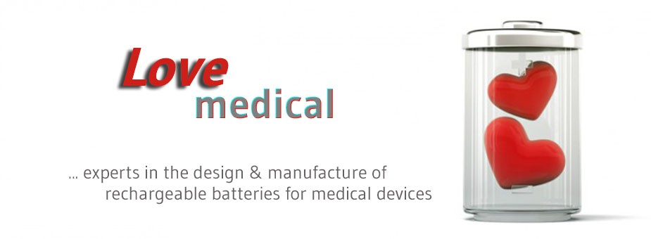 design and manufacture of rechargeable batteries for medical devices