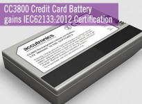 CC3800 gains IEC62133:2012 Certification