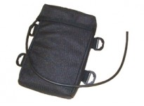 Belt pack pouch with 629010 lead. For N202 series batteries