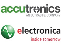 Meet Accutronics and discover new Ultralife CR123As at Electronica